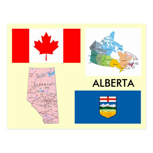 Alberta, Canada Postcards
