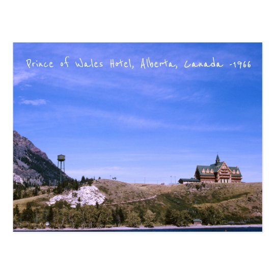 Alberta Canada, Waterton Lakes National Park Postcard