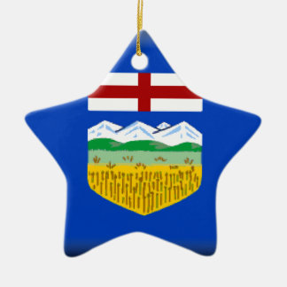 Alberta Ceramic Star Ornament