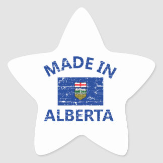 Alberta Coat of arms Star Sticker
