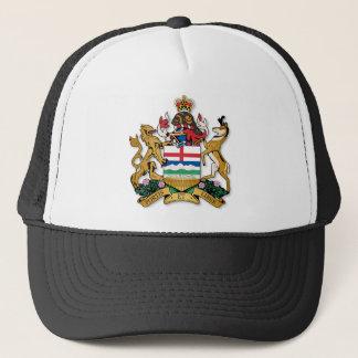 Alberta coat of arms trucker hat