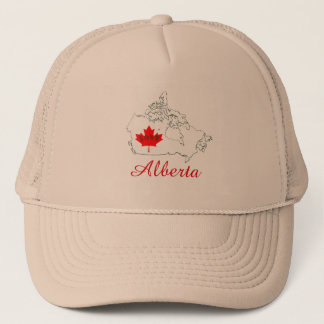 Alberta Customizable Love Province Canada hat