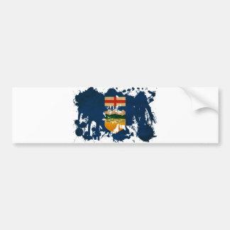 Alberta Flag Bumper Sticker