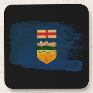 Alberta Flag Drink Coaster