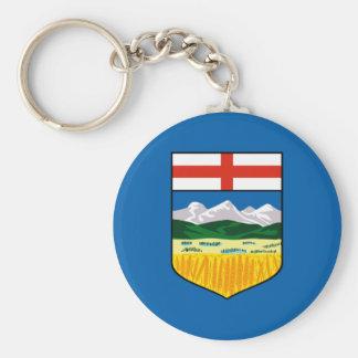 Alberta flag keychain