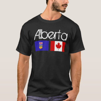 Alberta Flag Shirt Dark