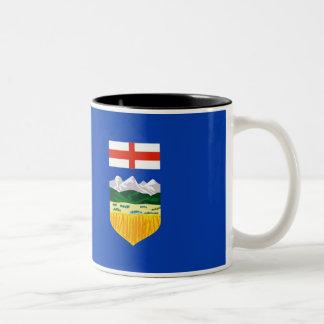 Alberta Flag Two-Tone Coffee Mug