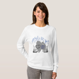 Alberta Keeshond Rescue Logo - Blue Grey T-Shirt