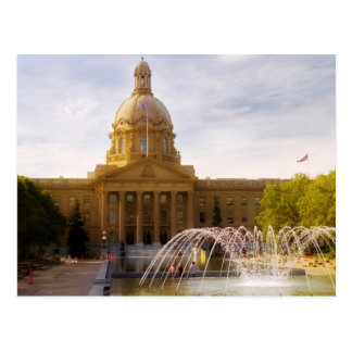 Alberta Legislature Postcard
