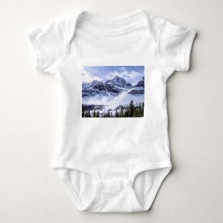 ALBERTA Mountains 1 Baby Bodysuit