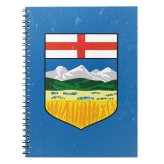 Alberta Spiral Notebook