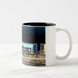 Alberta Train Mug