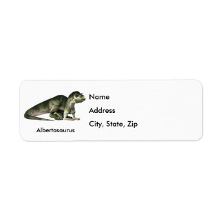 Albertasaurus Custom Return Address Labels
