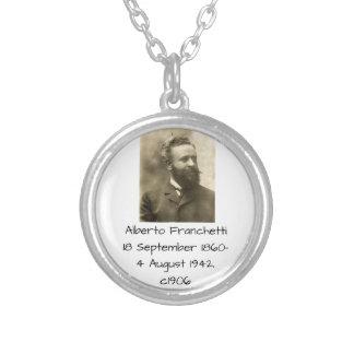 Alberto Franchetti c1906 Silver Plated Necklace