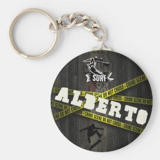ALBERTO - Skater Style Keychain