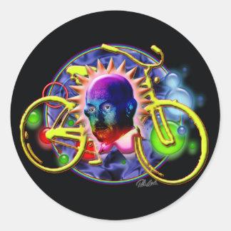 Albert's Wild Ride Sticker