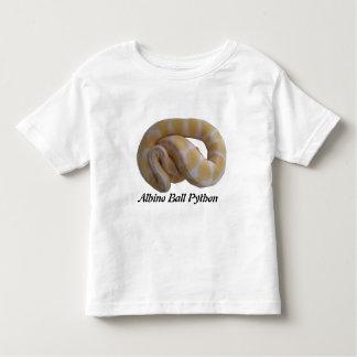 Albino Ball Python Toddler T-Shirt