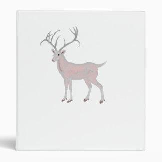 Albino Glass Deer Binder