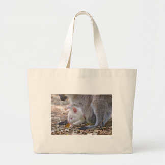 Albino joey in the pocket large tote bag