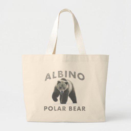 albino polar bear bags