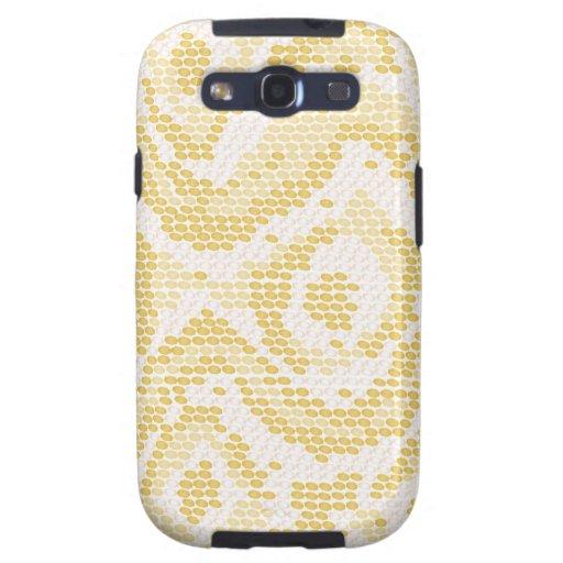 albino snake skin galaxy s3 cover
