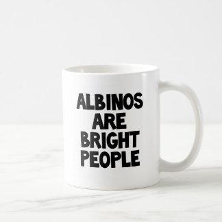 Albinos are Bright People mug