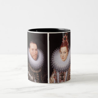 Albrecht and Isabella Two-Tone Coffee Mug