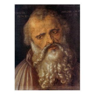 Albrecht Durer - Apostle Philipp Postcard