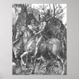Albrecht Durer Knight Death and the Devil Poster