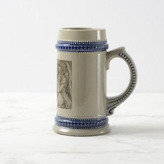 Albrecht Durer - Melancholia Beer Stein