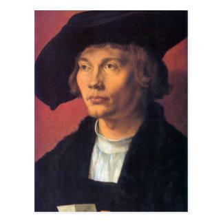 Albrecht Durer - Portrait of Bernhard von Reese Postcard
