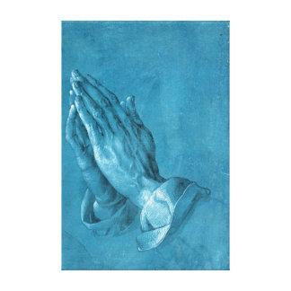 Albrecht Dürer Praying Hands Canvas Print