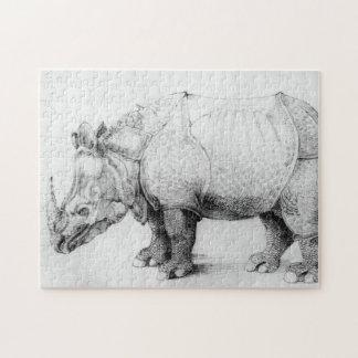 Albrecht Durer Rhinoceros Puzzle