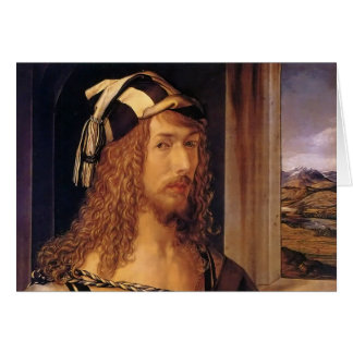 Albrecht Durer Self Portrait Card