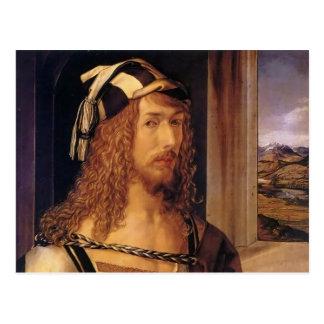 Albrecht Durer Self Portrait Postcard