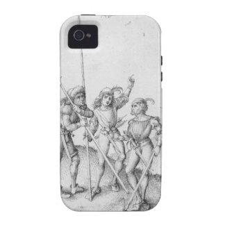 Albrecht Durer Sketch iPhone 4 Cases