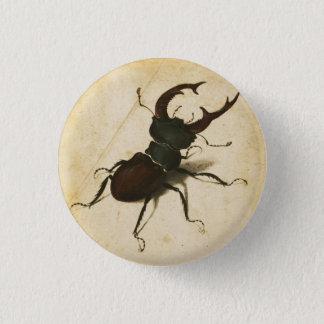 Albrecht Durer Stag Beetle Renaissance Vintage Art 1 Inch Round Button