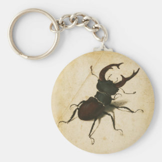 Albrecht Durer Stag Beetle Renaissance Vintage Art Keychain