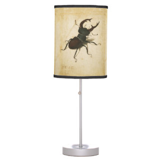 Albrecht Durer Stag Beetle Renaissance Vintage Art Table Lamp