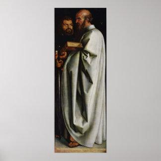 Albrecht Durer The Four Apostles Right Panel Poster