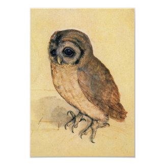 Albrecht Durer The Little Owl Custom Invitation