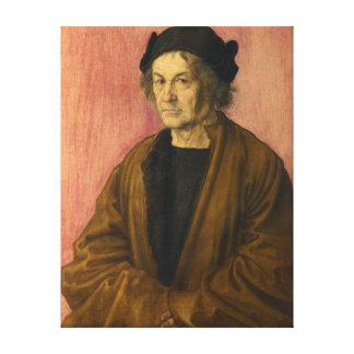 Albrecht Durer The Painters Father Canvas Print