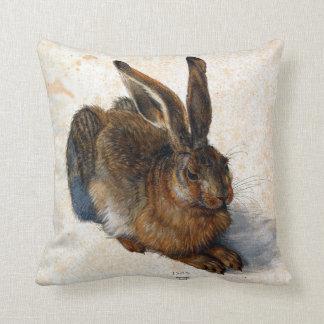 Albrecht Durer Young Hare Throw Pillow