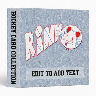 Album de carte de collection de rat de piste classeurs vinyle