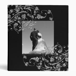 Álbum de fotos de boda plantilla Binder