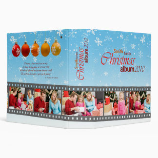 Album de vacances de Noël Classeurs