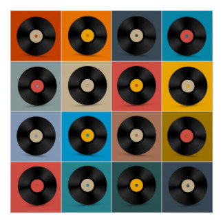 Album,Vinyl Record,Music Poster