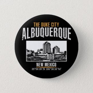 Albuquerque 2 Inch Round Button