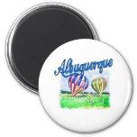 Albuquerque Balloons Refrigerator Magnet