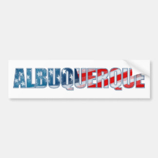 Albuquerque Bumper Sticker